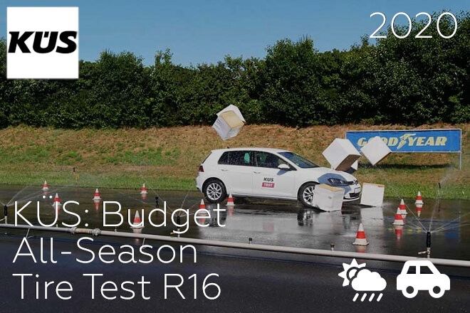 KÜS: Budget All-Season Tire Test R16