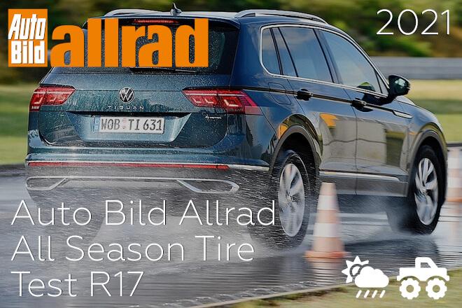 Auto Bild Allrad: All Season Tire Test R17
