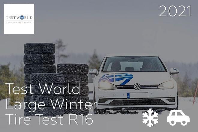 Test World: Large Winter Tire Test R16
