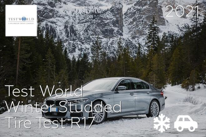 Test World: Winter Studded Tire Test R17