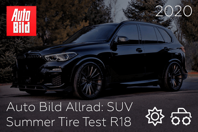 Auto Bild Allrad: SUV Summer Tire Test R18