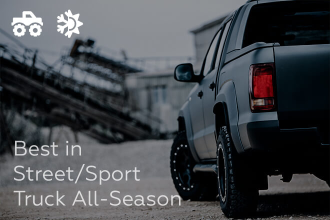 TireRack.com: Best in Street/Sport Truck All-Season