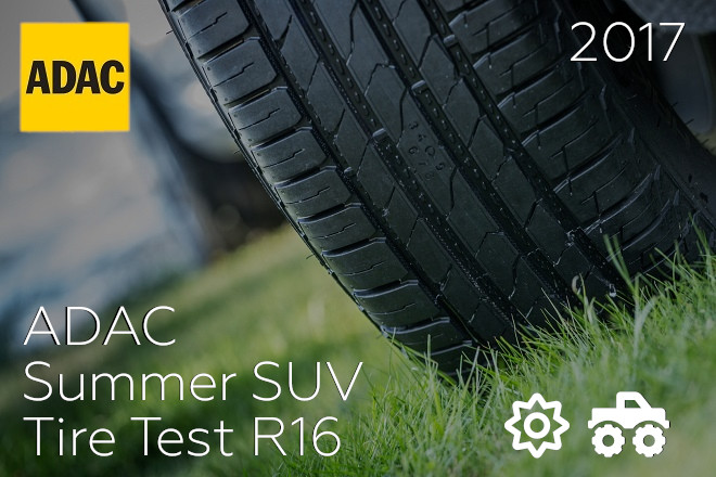 ADAC: Summer SUV Tire Test R16