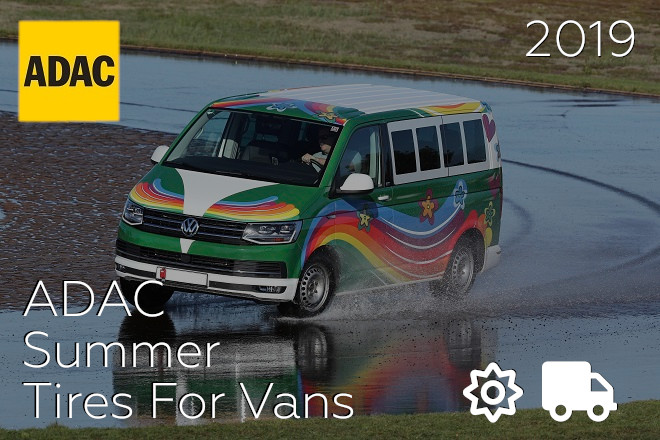 ADAC: Summer Tires For Vans