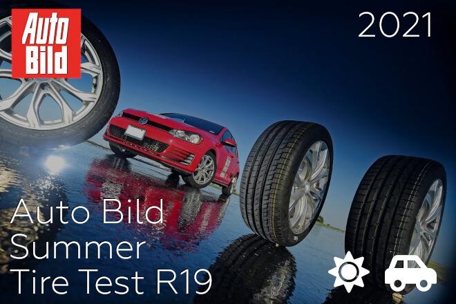 Auto Bild: Summer Tire Test R19