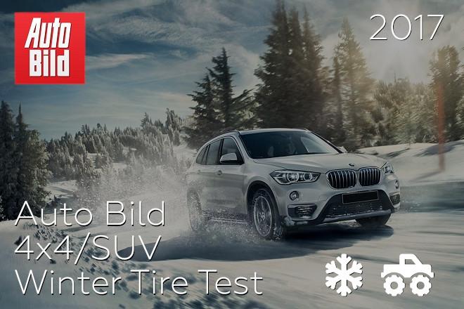 Auto Bild: 4x4/SUV Winter Tire Test