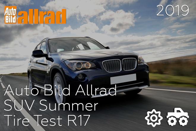 Auto Bild Allrad: SUV Summer Tire Test R17