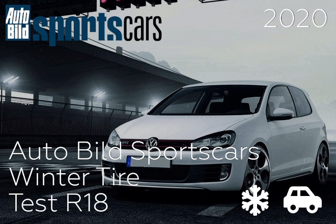 Auto Bild Sportscars: Winter Tire Test R18