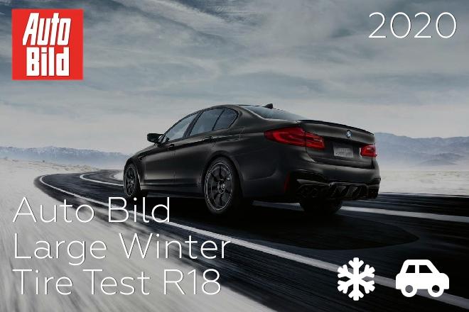 Auto Bild: Large Winter Tire Test R18