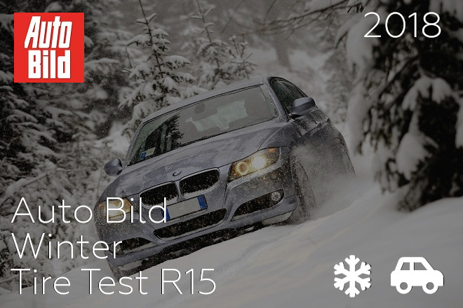 Auto Bild: Winter Tire Test R15