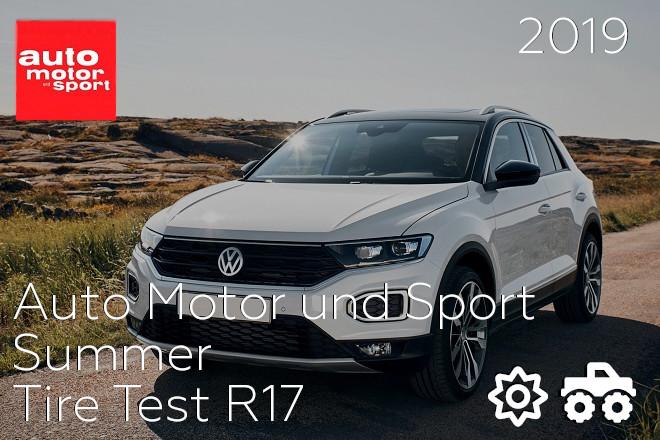Auto Motor und Sport: Summer Tire Test R17