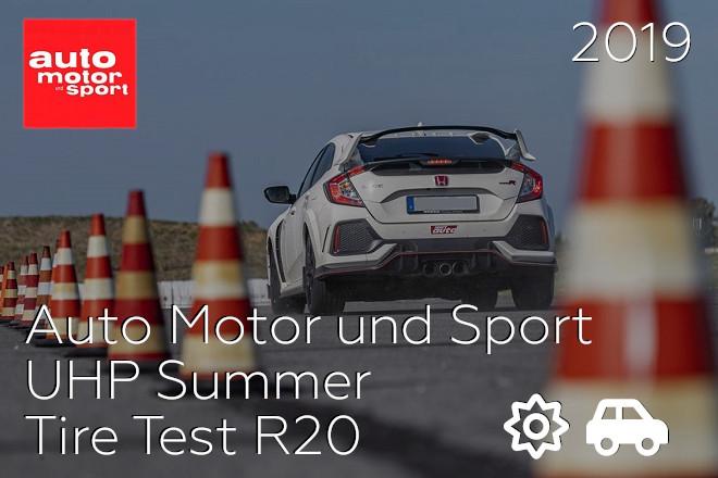 Auto Motor und Sport: UHP Summer Tire Test R20