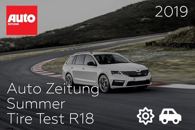 Auto Zeitung: Summer Tire Test R18