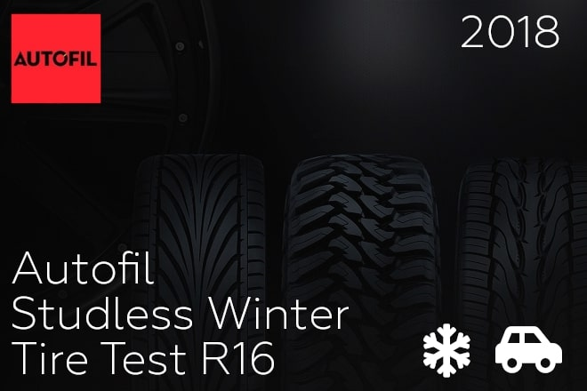 Autofil: Studless Winter Tire Test R16