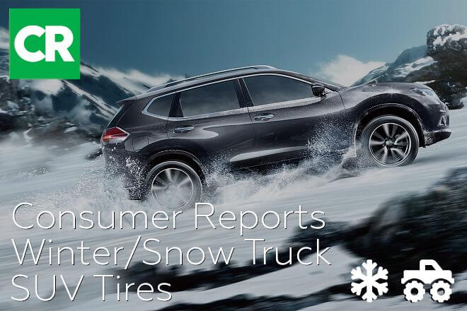 Consumer Reports: Winter/Snow Truck/SUV Tires