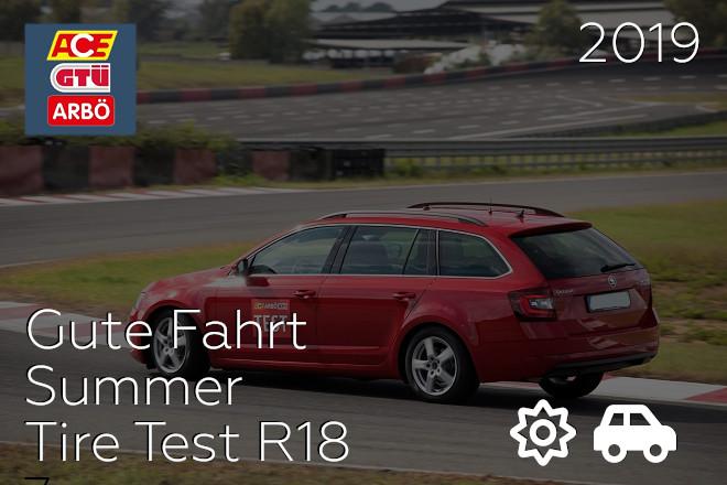 GTÜ/ACE/ARBÖ: Summer Tire Test R16