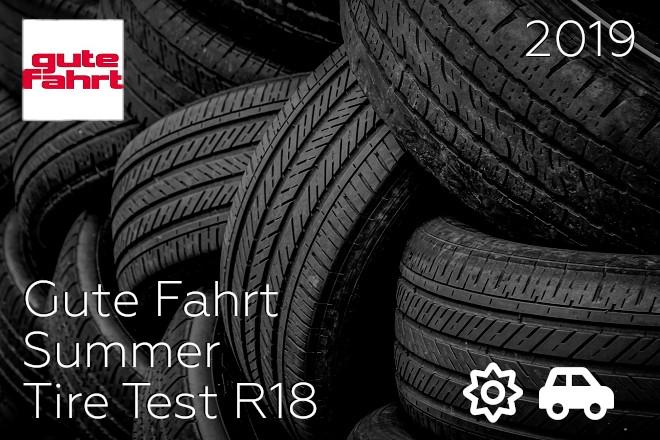 Gute Fahrt: Summer Tire Test R18