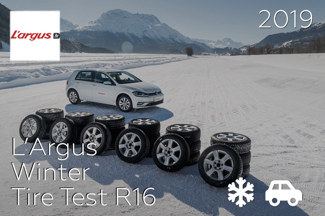 L'Argus: Winter Tire Test R16