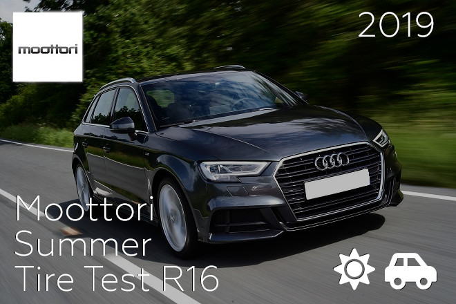 Moottori: Summer Tire Test R16