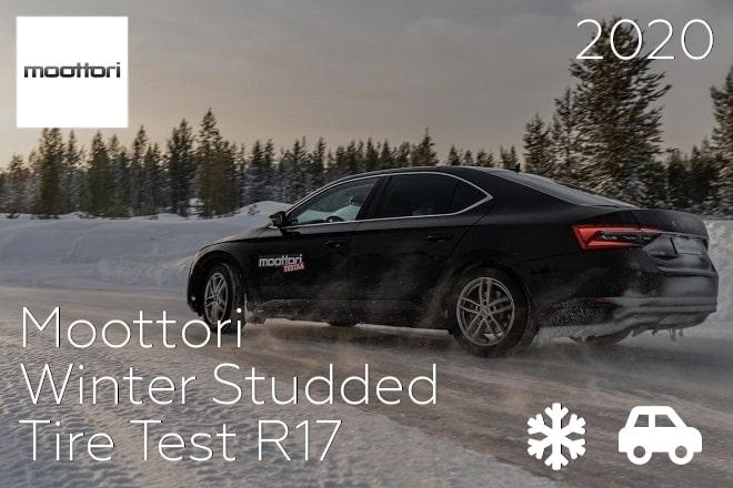 Moottori: Winter Studded Tire Test R17