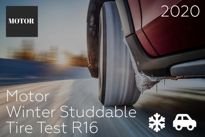 Motor: Winter Studdable Tire Test R16