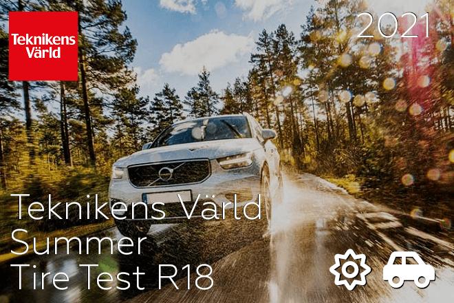 Teknikens Värld: Summer Tire Test R18