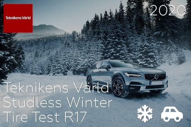 Teknikens Värld: Studless Winter Tire Test R17