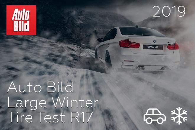 Auto Bild: Large Winter Tire Test R17