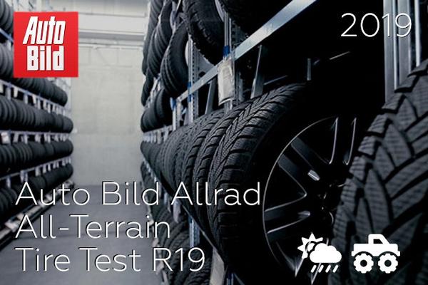 Auto Bild Allrad: All-Terrain Tire Test R19