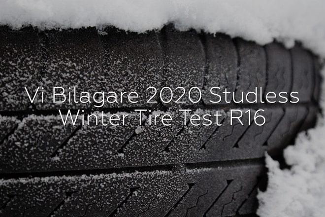 Vi Bilagare: Studless Winter Tire Test R16