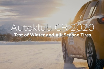 Autoklub CR 2020: Test of Winter and All-Season Tires