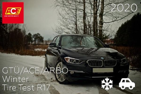 GTÜ/ACE/ARBÖ: Winter Tire Test R17