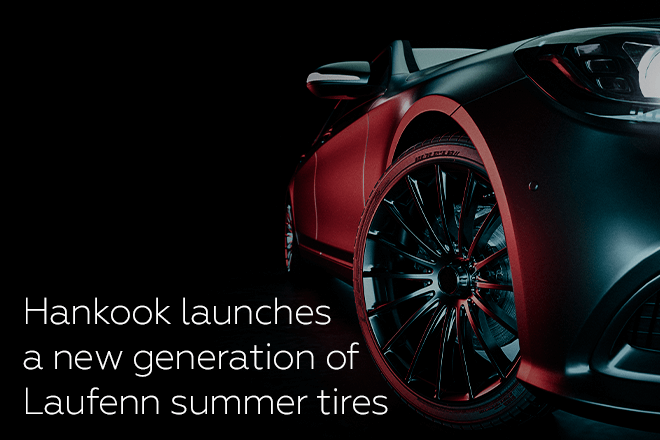 Hankook launches a new generation of Laufenn summer tires
