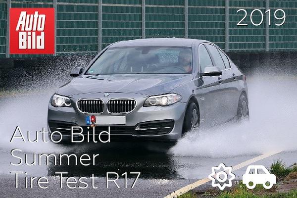 Auto Bild: Summer Tire Test R17