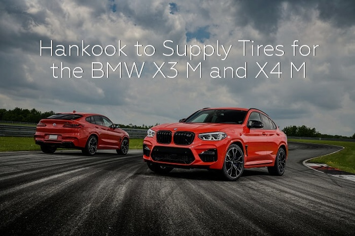 Hankook to Supply Tires for the BMW X3 M and X4 M