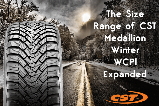 The Size Range of CST Medallion Winter WCP1 Expanded
