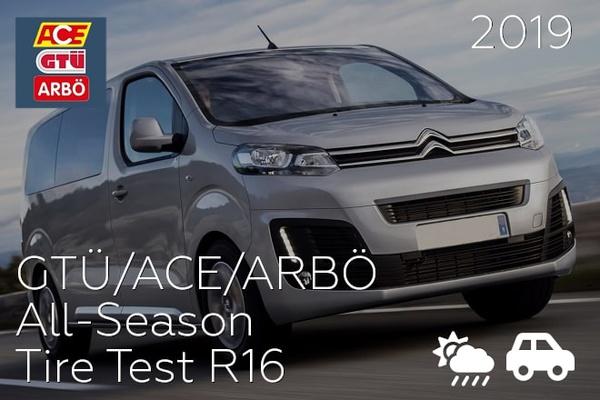 GTÜ/ACE/ARBÖ: All-Season Tire Test R16
