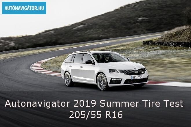 Autonavigator 2019 Summer Tire Test – 205/55 R16
