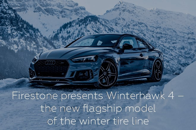 Firestone presents Winterhawk 4 – the new flagship model of the winter tire line