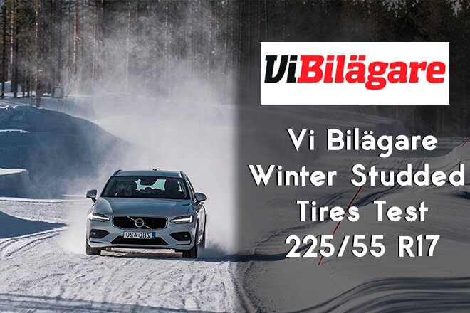 Vi Bilägare: Winter Studded Tires Test in Size 205/55 R17 (2019)