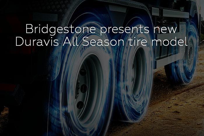 Bridgestone presents new Duravis All Season tire model