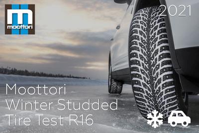 Moottori: Winter Studded Tire Test R16