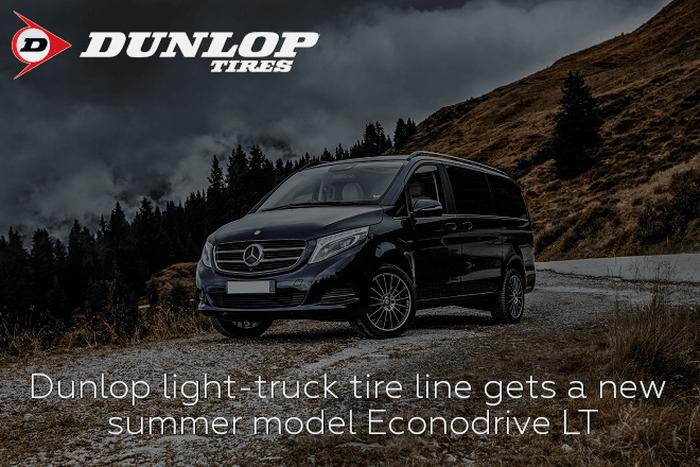 Dunlop light-truck tire line gets a new summer model Econodrive LT