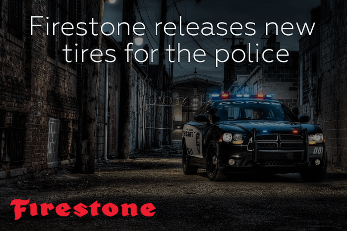 Firestone releases new tires for the police