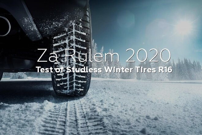 Za Rulem 2020: Test of Studless Winter Tires R16