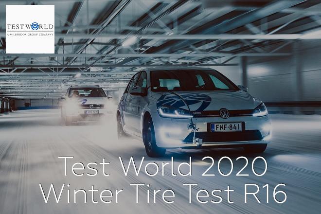 Test World 2020: Winter Tire Test R16
