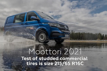 Moottori 2021: Test of studded commercial tires in size 215/65 R16C