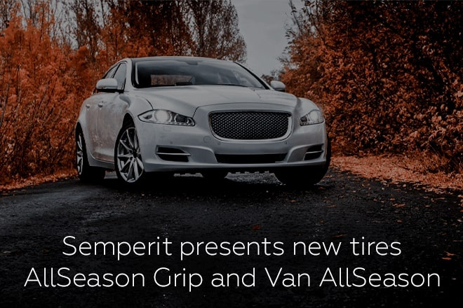 Semperit presents new tires AllSeason Grip and Van AllSeason