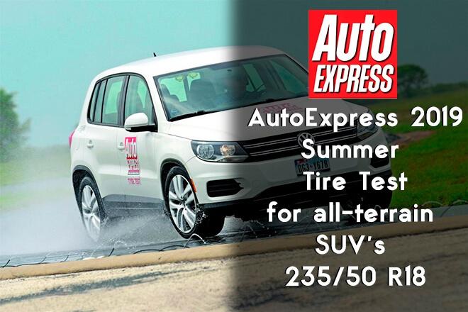 AutoExpress 2019: All-Terrain SUV Summer Tire Test