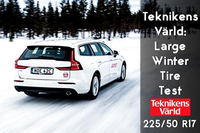 Teknikens Värld 2019: Large Winter Tire Test - 225/50 R17